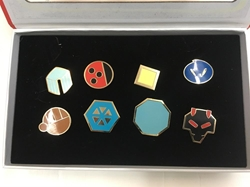 Picture of Pokemon Johto League Gym Badge Boxed Set