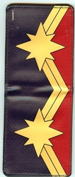 Picture of Bi-Fold Wallet Captain Marvel Star Logo