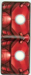 Picture of Bi-Fold Wallet Iron Man Chest Close-Up