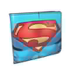 Picture of Bi-Fold Wallet Superman Chest Logo