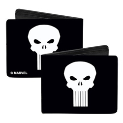 Picture of Canvas Bi-Fold Wallet Punisher Logo