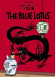 Picture of Adventures of Tintin Blue Lotus GN