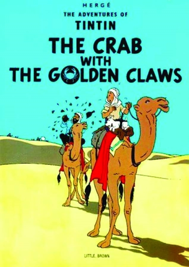 tintincrabwiththegoldencl