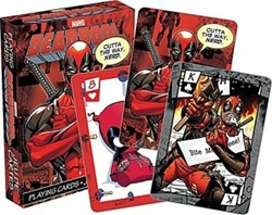 Picture of Marvel Deadpool Playing Cards