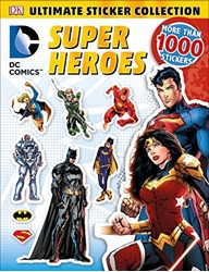 Picture of DC Comics Superheroes DK Ultimate Sticker Collection
