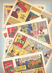 Picture of Classic Comic Books Magnet