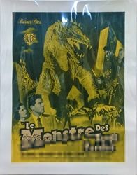 Picture of Monster from 20,000 Fathoms French 1-Sheet