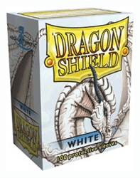Picture of Dragon Shields White Card Sleeve 100-Count Pack