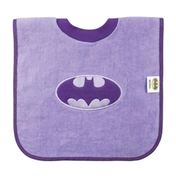 Picture of Batman Purple Pull-Over Bib