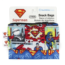 Picture of Superman Small Snack Bag 2-Pack