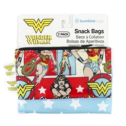 Picture of Wonder Woman Small Snack Bag 2-Pack