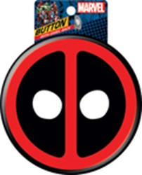 """Picture of Deadpool Symbol 6"""" Button"""
