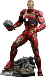 Picture of Iron Man Mark XLV Avengers Age of Ultron Quarter Scale Hot Toys Figure
