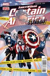 Picture of Captain America Sam Wilson #8