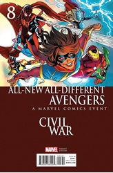 Picture of All-New All-Different Avengers #8 Civil War Cover