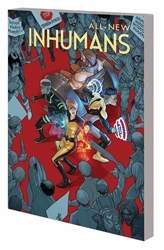 Picture of All-New Inhumans TP VOL 01 Global Outreach