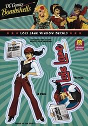 Picture of DC Bombshells Lois Lane Vinyl Decal
