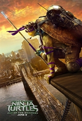 Picture of Teenage Mutant Ninja Turtles Out of the Shadows Donatello Character 1-Sheet