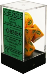 Picture of Dice Set Speckled Lotus