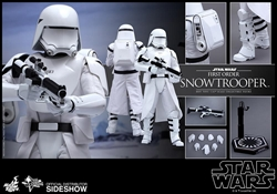 Picture of Star Wars Force Awakens First Order Snowtrooper Sixth Scale Figure