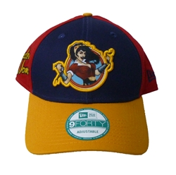 Picture of DC Bombshell Wonder Woman 9Forty Bedrock City Exclusive Adjustable Cap