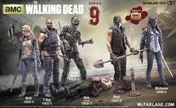 Picture of Walking Dead Series 9 Action Figure Michonne