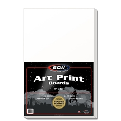 "Picture of Art Print 11"" x 17"" Board 100-Count Pack"