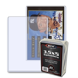 "Picture of Card 3"" x 4"" Topload Sleeve 25 Count"