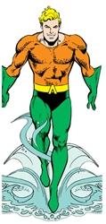 Picture of Aquaman Quotable Notable Die Cut Card