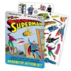 Picture of Superman Magnetic Action Set