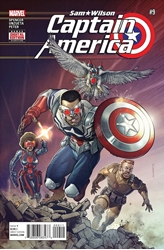Picture of Captain America Sam Wilson #9