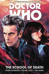 Picture of Doctor Who 12th Doctor HC VOL 04 School Of Death
