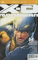 Picture of X-O Manowar Annual 2016 #1 Carnero Cover