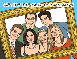Picture of Friends We Are the Best of Friends Birthday Card