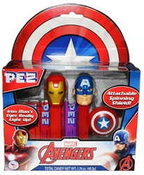 Picture of Pez Avengers Candies Twin Pack
