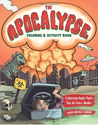 Picture of Apocalypse Coloring & Activity Book SC Survival Guide that's Fun for Every Bunker