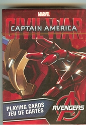 Picture of Civil War Iron Man Playing Cards