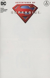 Picture of Adventures of Supergirl #3 Blank Cover
