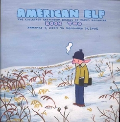Picture of American Elf TP VOL 02 Sketchbook Diaries of James Kochalka