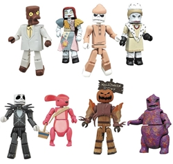 Picture of Nbx Nightmare Before Christmas Minimates Series 3 Blind Pack Figure