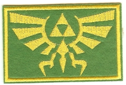 Picture of Legend of Zelda Hyrule Banner Patch