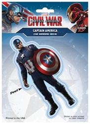 Picture of Captain America Civil War Captain America Window Decal