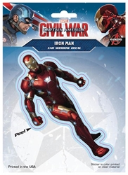 Picture of Captain America Civil War Iron Man Window Decal