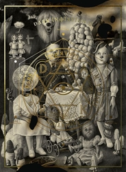 Picture of Dark Inspirations 2 Grotesque Illustrations, Art and Design