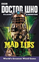Picture of Doctor Who Vaillains and Monsters Mad Libs