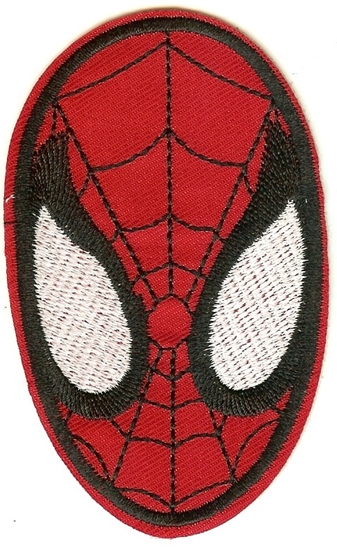 spidermanheadpatch