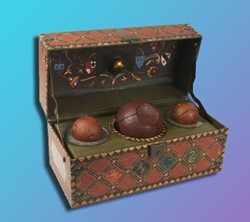 Picture of Harry Potter Collectible Quidditch Set with Poster