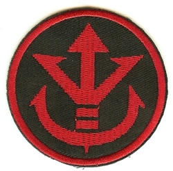 Picture of Dragon Ball Z Saiyan Royal Crest Symbol Patch