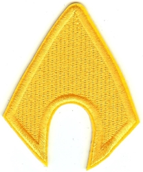 Picture of Aquaman Symbol Patch