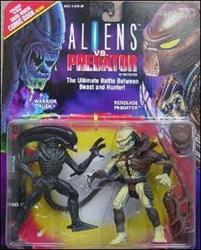 Picture of Alien vs Predator Warrior Alien and Renegade Predator Action Figure